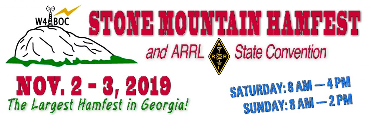 2019 Stone Mountain Hamfest